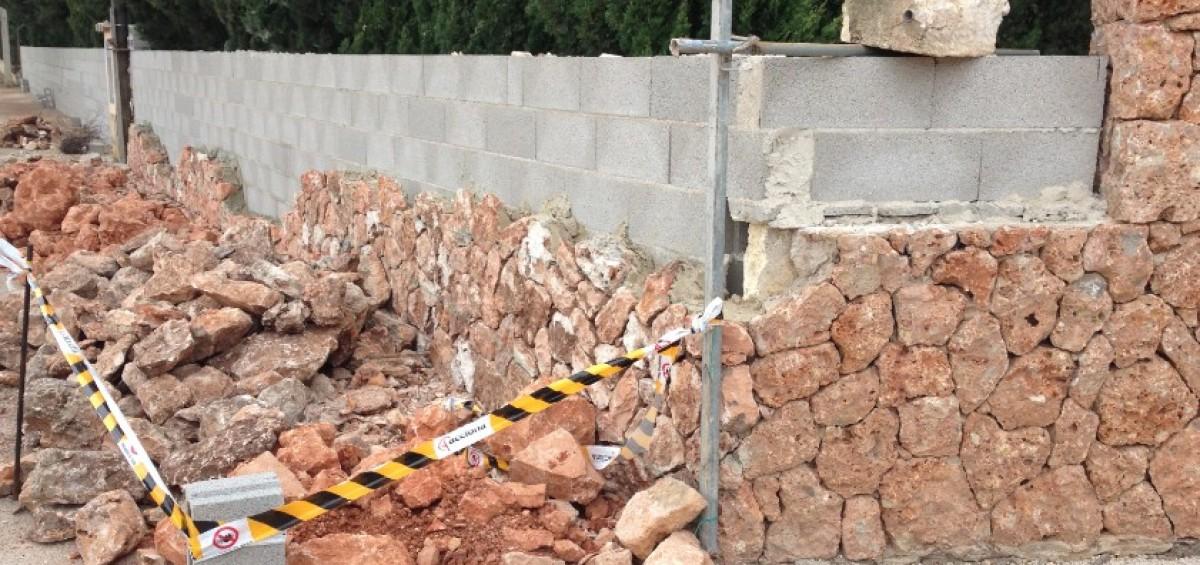 Quieres un muro de piedra natural en tu casa ac reformas for Piedra natural para exterior