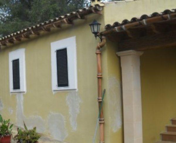 Otra fachada rehabilitada en mallorca ac fachadas - Trabajos verticales en palma ...