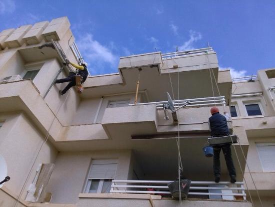 Revestimiento de fachadas trabajos verticales en palma - Trabajos verticales en palma ...