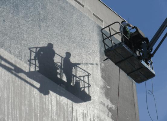 Cómo limpiar una fachada