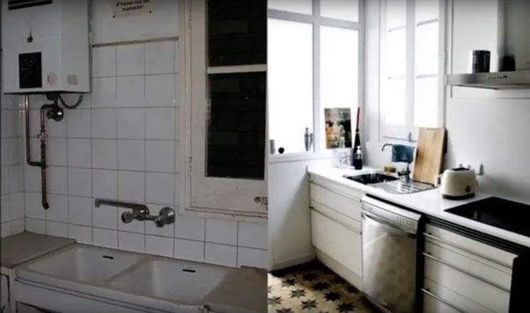 Reformas de pisos: el antes y el después
