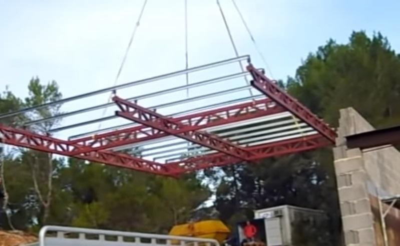 Montar una estructura de hierro