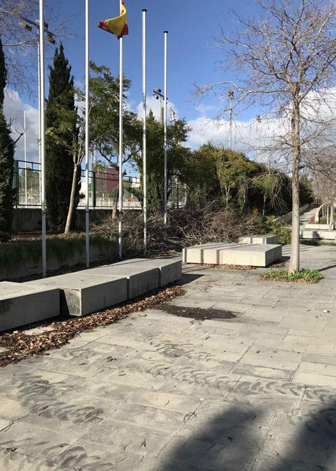Terrazas exteriores del Velódromo Palma Arena